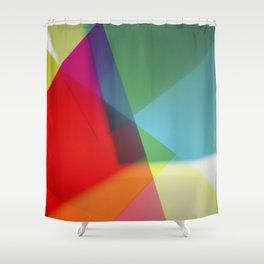 Rainbow Prism Shower Curtain