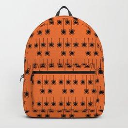 Halloween Spider Pattern Backpack