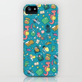 Dungeons & Patterns iPhone Case