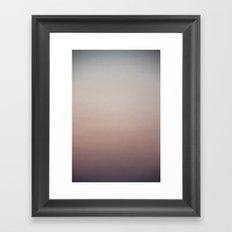 sky gradient 3 Framed Art Print