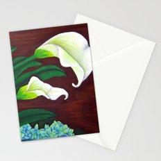 Calla Lilies & Hydrangea Stationery Cards
