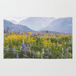 Waterton Wildflowers Rug