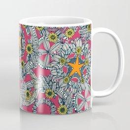 cirque fleur rose papaya star Coffee Mug