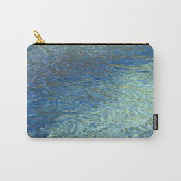 Spring Water Abstract Carry-All Pouch