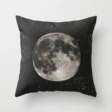 The Moon  [Sans Type] Throw Pillow