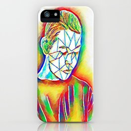 Colorful Sadness iPhone Case