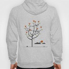 Birds in a tree Hoody
