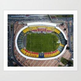Estadio El Campin Art Print