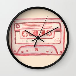 tape Wall Clock