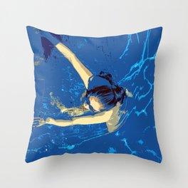 Submergence Throw Pillow