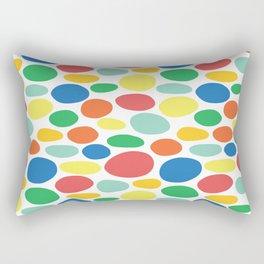 Large Dots Rectangular Pillow