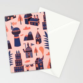A Little Town Stationery Cards