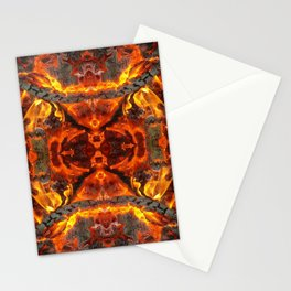 The jewel of fire Stationery Cards
