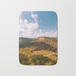 View from Chimney Top Rock - Red River Gorge, Kentucky Bath Mat