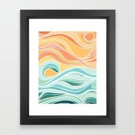 Sea and Sky II Framed Art Print
