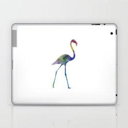 Flamingo 01 in watercolor Laptop & iPad Skin
