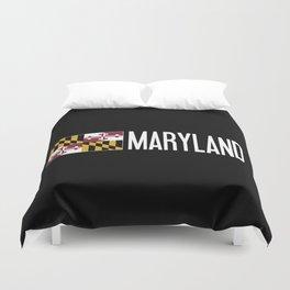 Maryland: Marylander Flag & Maryland Duvet Cover