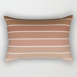 Gradient Arch - Earth Rectangular Pillow
