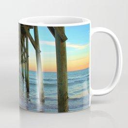 Sunset Under The Pier Coffee Mug