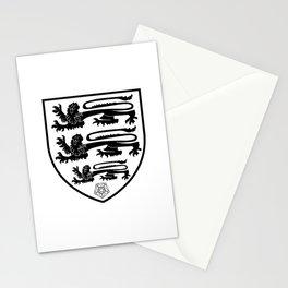 British Three Lions Crest Stationery Cards