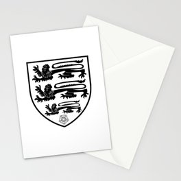 British Three Lions Crest Stationery Cards