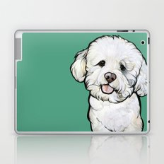 Gracie the Bichon Laptop & iPad Skin