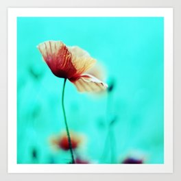 fantasy garden ~ flower dream°1 Art Print