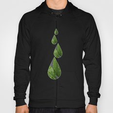 Green Leaves after the rain Hoody