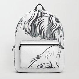 Cool Doodle Dog Backpack