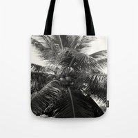 coconut wishes Tote Bags featuring Coconut! by Chandon Photography