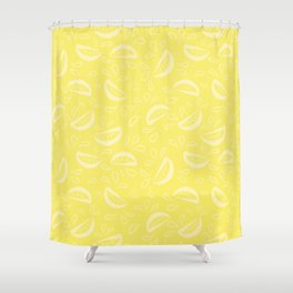 Abstract Lemonade 4 Shower Curtain
