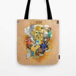 The Fantastic Craft Coffee Contraption Suite - The Fantastic Craft Coffee Contraption Tote Bag
