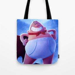 captain underpants Tote Bag