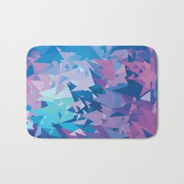 Purple Dimension Bath Mat