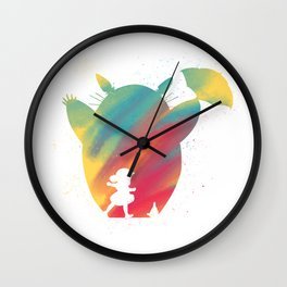 Joel Freeman's Miyazaki Art M1 Series: Totes Wall Clock