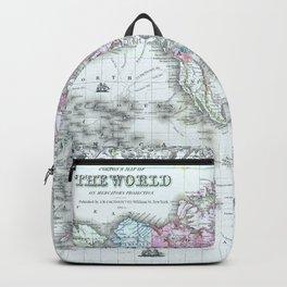 Old world map backpacks society6 vintage world map 1855 backpack publicscrutiny Images