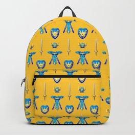Erdrick's Equipment - Yellow Backpack