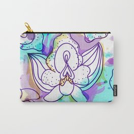 Sexy Orchid Carry-All Pouch
