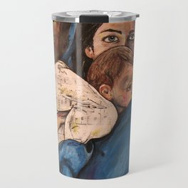 For Unto Us A Child is Born Travel Mug