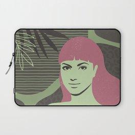 Pink Bangs Laptop Sleeve