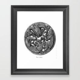Three Brothers Framed Art Print
