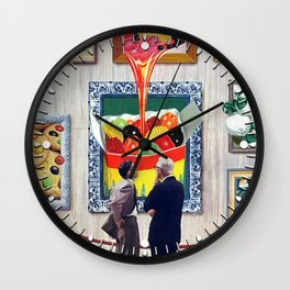 A Question of Candy Wall Clock