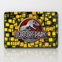 jurassic park iPad Cases featuring JURASSIC PARK by BeautyArtGalery