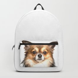 Chihuahua Portrait Backpack