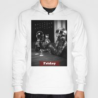 friday Hoodies featuring Friday by T-Hype (julianajace)