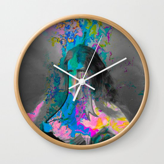 Forming from Within Wall Clock