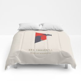 Red Crossbill Comforters