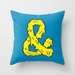 Slimepersand Throw Pillow
