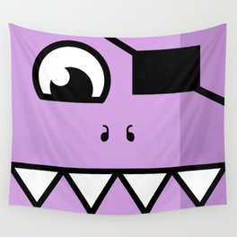 Monsters⁴ : Purple Wall Tapestry