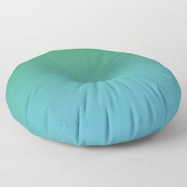 Emerald Water Floor Pillow